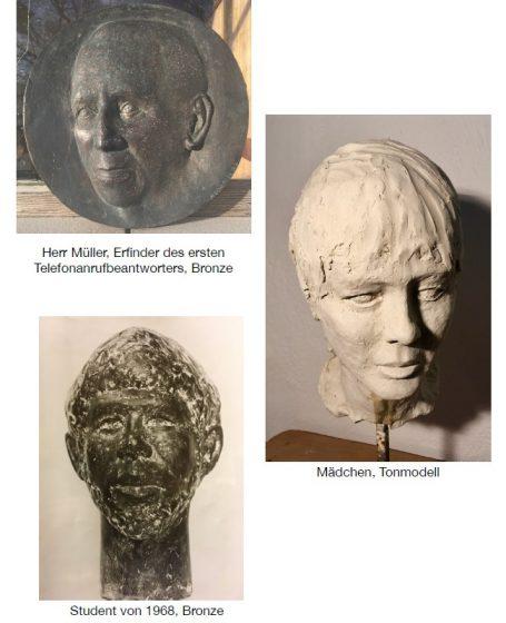 Akademischer Bildhauer Helmut Schlegel - Bronze - Naturstein - Messing - Marmor - Happerg - Degerndorf - Eurasburg bei München